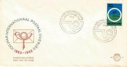 Nederland. FDC. 1963. Thème: L Poste - FDC