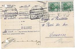Entiers Postaux - Carte Postale Allemagne - Belgique - Entiers Postaux