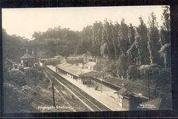 Great Britain - Finsbury Park - London - NlPPCo - Highgate Station - Photocard Fotokaart - 1910 - Royaume-Uni