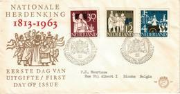 Nederland. FDC. 1963. Thème: Commémoration Nationale, Prestation De Serment. - FDC