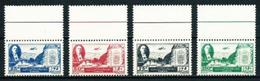 MNH Complete Set Of 4 Stamps President Bechara El Khoury 1946 Lebanon Liban - Liban