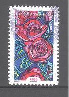 France Autoadhésif Oblitéré N°1309 (Fleurs à Foison) (cachet Rond) - France