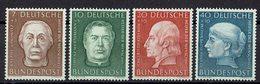 BRD 1954 // Mi. 200/203 * - Neufs