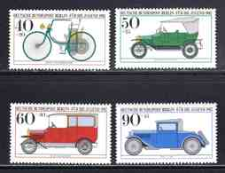 Berlin 1982, Sèrie Complète Neuve** Automobiles N°621 à 624, TB  1,40 € (cote 7 € 4 Valeurs) - [5] Berlin