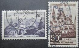 FRANCE N°916 Et 917 Oblitérés - France