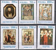Poland 1991- Art Treasures Of The National Gallery Mi 3306-11 - MNH (**) - Postfrisch - 1944-.... Repubblica