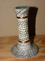 Grés Bougeoir Jacques Breugnot N° 385 Hauteur 11cm - Ceramics & Pottery