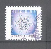 France Autoadhésif Oblitéré (Flocons De Neige N°5) (cachet Rond) - France