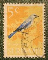 5 Ct Vogel Bird NVPH 443 Mi 488 1966 Used / Gestempeld SURINAME / SURINAM - Suriname ... - 1975