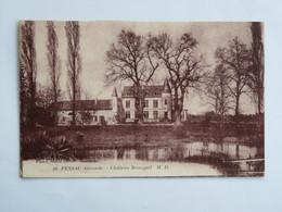 C.P.A. : 33 PESSAC : Château Bourgail, Timbre En 1922 - Pessac