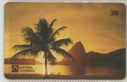 LSJP BRAZIL PHONECARD SUGAR LOAF RIO DE JANEIRO TELEBRAS - Brazilië