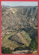 CPM-34- CIRQUE De NAVACELLES -Vu De L'OBSERVATOIRE De La BEAUMA AURIOL ** 2 SCANS - France