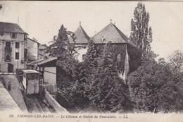 Thonon Les Bains, Le Château Et Station Du Funiculaire (pk56300) - Thonon-les-Bains