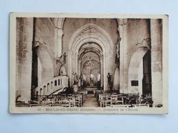 C.P.A. : 33 MOULIS EN MEDOC : Intérieur De L'Eglise - Autres Communes