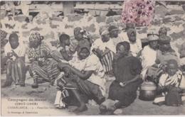 Cpa Maroc - CASABLANCA - Familles Sénégalaises - Campagne Du Maroc (1907-1908) - Casablanca