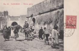 Cpa Maroc - TANGIERS (Tanger) - Town Gates - Tanger