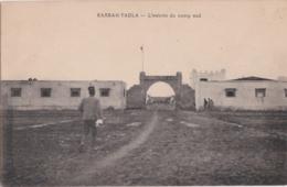 Cpa Maroc - KASBAH TADLA - L'entrée Du Camp Sud - Maroc