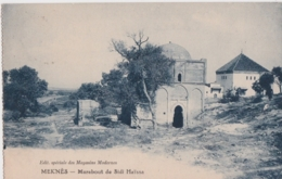 Cpa Maroc - MEKNES - Marabout De Sidi Haïssa - Meknès
