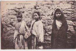 Cpa Maroc - Petits Indigènes - Non Classés