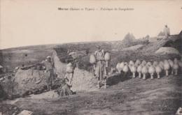 Cpa Maroc - Fabrique De Gargolettes - Non Classés
