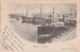 Cpa Tunisie - SFAX - Le Port - Tunisie