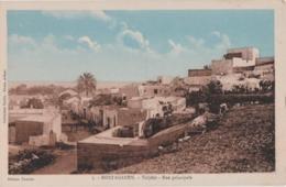 Cpa Algérie - Mostaganem - Tidjditt - Rue Principale - Mostaganem