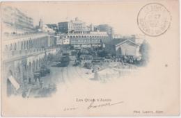 Cpa Algérie - Les Quais D'Alger  (1902) - Alger