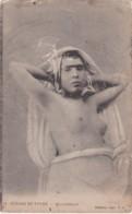 Cpa Scènes Et Types - Mauresque (jeune Fille Seins Nus) - Algérie