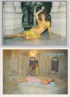 Lot De 3 CPM Turquie - Bains Turcs Et Danseuses Du Ventre (Turkish Bath And Belly Dancers) (seins Nus) - Turquie