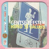 Bierviltje - Gentse Feesten Rond St-Jacobs - 2001 - Sous-bocks