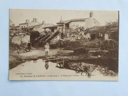 """C.P.A. : 44 Environs De VERTOU : L'Etang Du Village """" La Barbinière"""", Animé - France"""