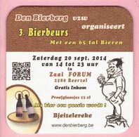 Bierviltje - Den Bierberg - 3°Bierbeurs - 2014 - Zaal Forum Beerzel - Sous-bocks