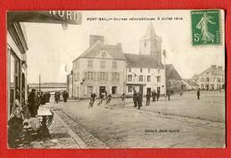 CPA 50 - PORT-BAIL - Courses Velocipèdiques , 5 Juillet 1914 - édition F. David HOTEL ANGLETERRE - Cyclisme