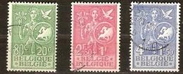 Belgie Belgique 1953  Yvertn° 927-929 (°) Used Cote 45 Euro Idée Européenne Europese Gedachte - Used Stamps
