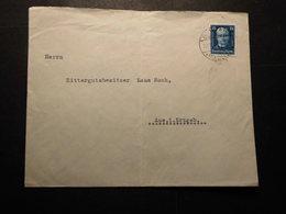 Deutsches Reich Mi. 405  Doppelbrief (Mi. 110.-€) Von Bo...23.11.1927 Nach Aue-Erzgebirge Brief Gefaltet - Allemagne