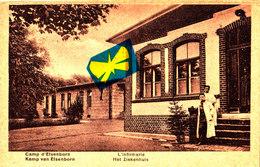 Camp D'ELSENBORN - L'Infirmerie - Carte Animée - Bütgenbach