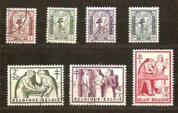 Belgie Belgique 1956  Yvertn° 998-1004 (°) Used Cote 24 Euro - Belgien