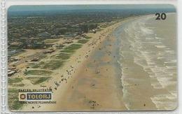 LSJP BRAZIL PHONECARD BEACH SANTA CLARA TELERJ - Brésil