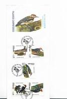 EL SALVADOR 1999 FDC BIRDS WOODPECKER FIRST DAY COVER SPECIAL POSTMARK FIRST DAY COVER - El Salvador