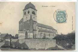 CPA 02 Aisne Grougis L'Eglise - France