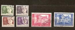 Belgie Belgique 1954 OCBn° 955-60 (°) Used Cote 21 Euro - Used Stamps