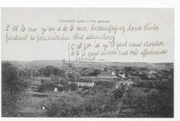 36  LEVROUX  VUE  GENERALE  TRES  BON ETAT   1927 ... 2 SCANS - France