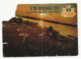 Hungary, Balaton Sound Festival. - Tickets D'entrée