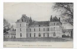 36 CHATILLON  CHATEAU DE CHAUDENAY     .. 2 SCANS - France