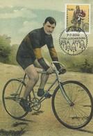 Francois Faber -  Vainqueur Du Tour De France En  1909 - Cartes Maximum