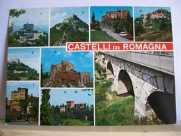 1980 - Rimini - Castelli Di Romagna - Monte Fiore - Monte Bello - Toriana - Bertinoro  Savignano Verucchi Castello - Châteaux