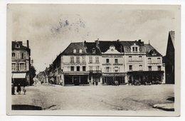 LE BLANC--1952--Place De La Libération Et Avenue De La Gare--timbre--cachet LE BLANC + FLEURY LES AYDES-45 - Le Blanc