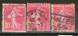 N° 191°_type I_type IIA_type IIB_Dallay Cote 6.00 - 1906-38 Sower - Cameo