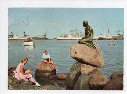 Danemark: Kobenhavn, Copenhagen, The Little Mermaid, La Petite Sirene (19-255) - Danemark