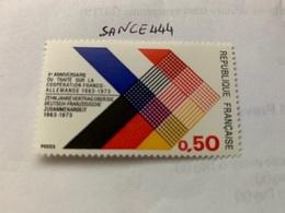 France German Co-operation 1973 Mnh - France